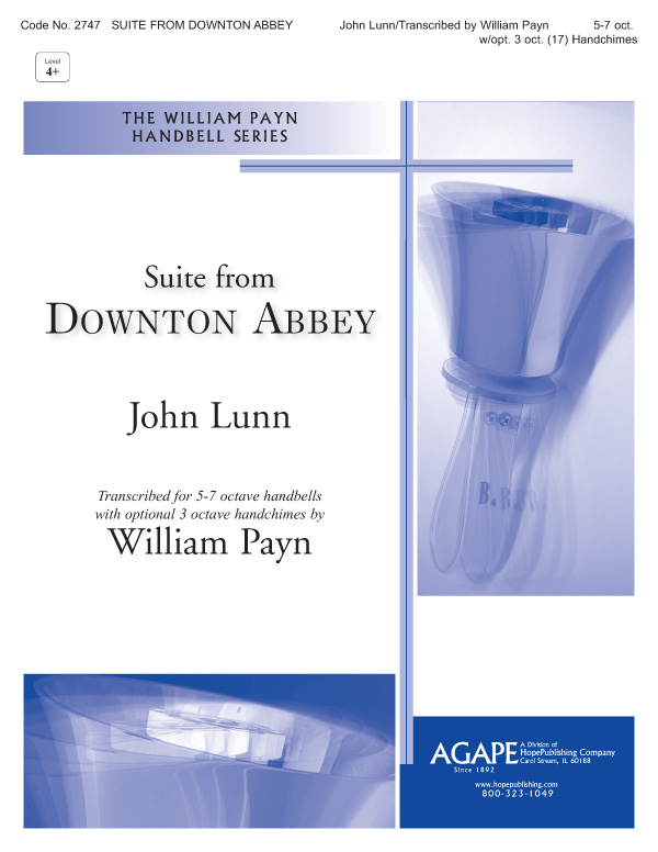 "Suite from """"Downton Abbey"""" - 5-7 oct. w- opt. 3 oct. (17) handchimes Cover Image"