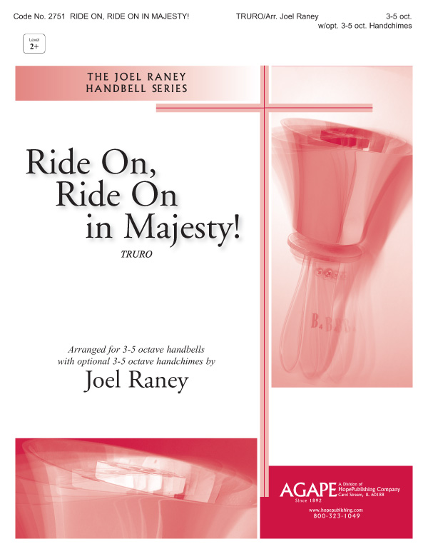 Ride On Ride On in Majesty- 3-5 Oct. w-opt. 3-5 oct. Handchimes Cover Image