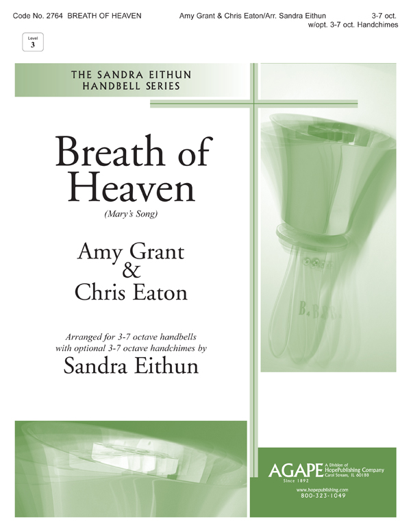 Breath of Heaven (Mary's Song) - 3-7 Oct. w-opt. 3-7 Oct. Handchimes Cover Image