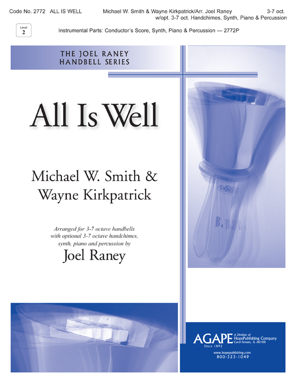 All Is Well - 3-7 Oct. w-opt. 3-7 Oct. Handchimes Synth PIano and Perc. Cover Image