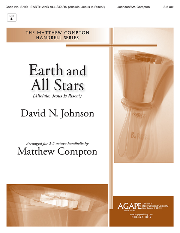 Earth and All Stars (Alleluia Jesus Is Risen)-3-5 oct. Cover Image