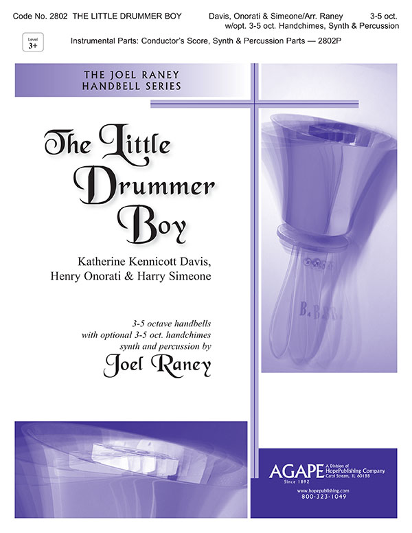 Little Drummer Boy - 3-5 Oct. w.opt. 3-5 oct. Handchimes Cover Image
