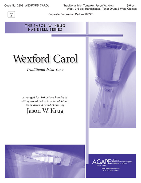 Wexford Carol - 3-6 Oct. w-opt. 3-6 oct. Handchimes Tenor Drum and Wind Chimes Cover Image