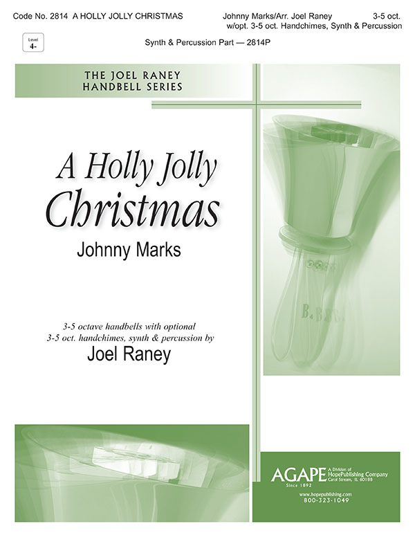 Holly Jolly Christmas A - 3-5 Oct. w-opt. 3-5 oct. Handchimes Synth and Perc. Cover Image