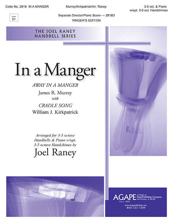 In a Manger - 3-5 Oct. and Piano w-opt. 3-5 oct. Handchimes Cover Image