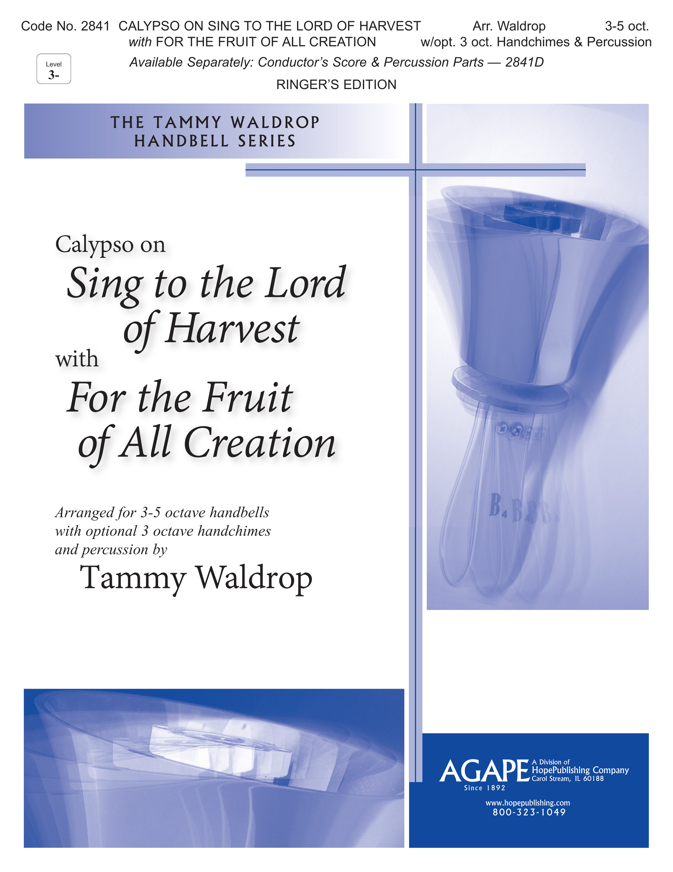 Calypso on Sing to the lord of Harvest with For the Fruit - 3-5 Oct Cover Image