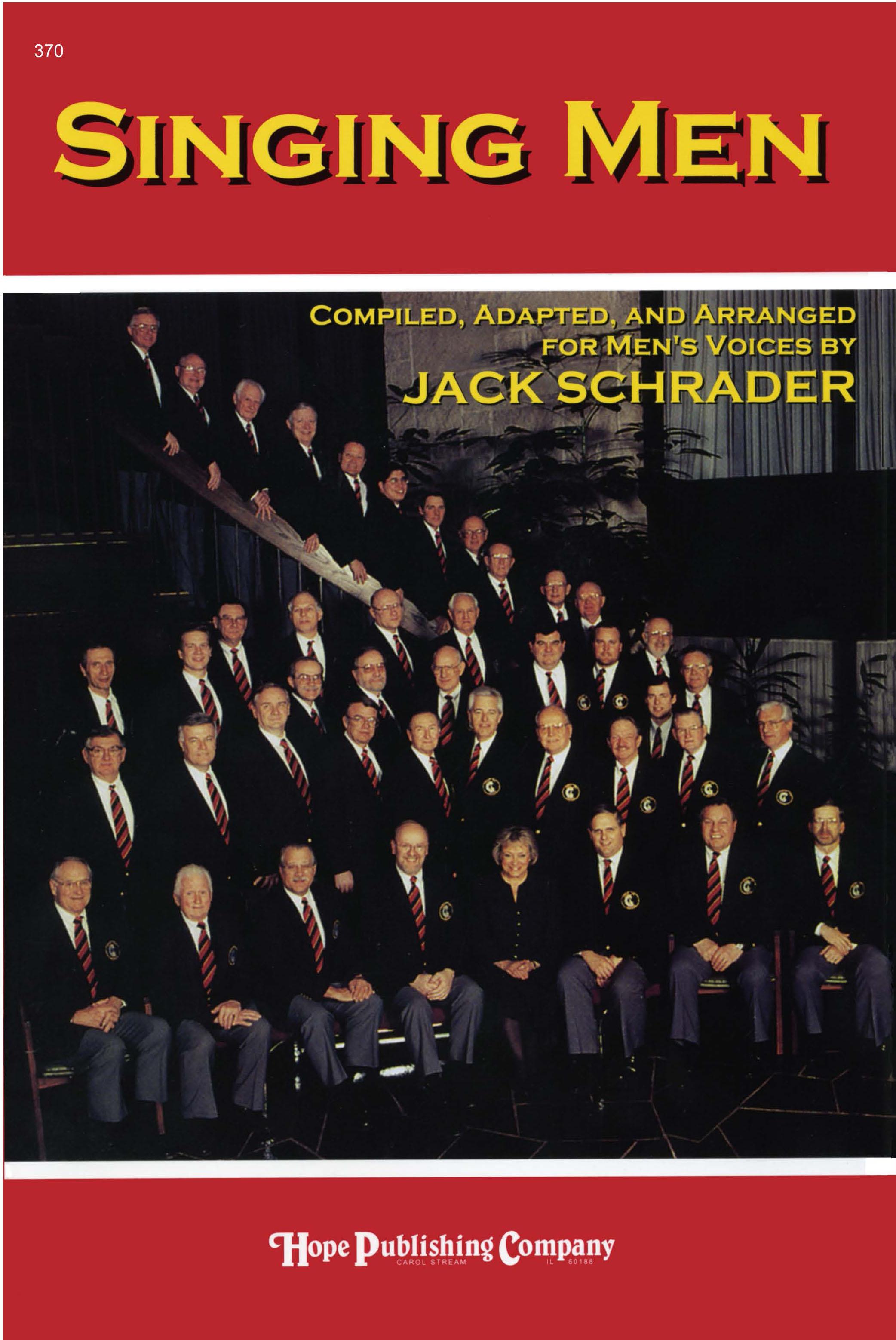 Singing Men Vol. 1 - Score Cover Image