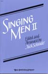 Singing Men Vol. 2 - Score Cover Image