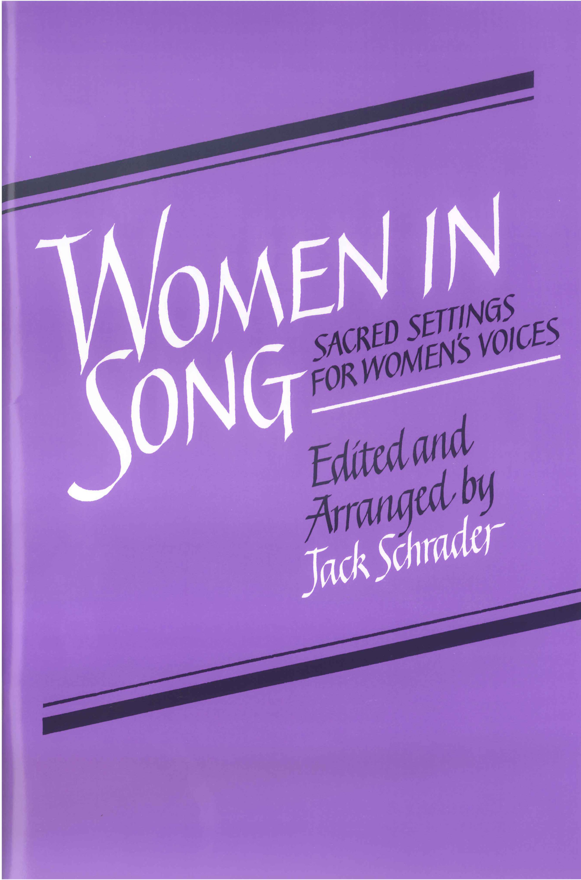 Women in Song 1 - Score Cover Image