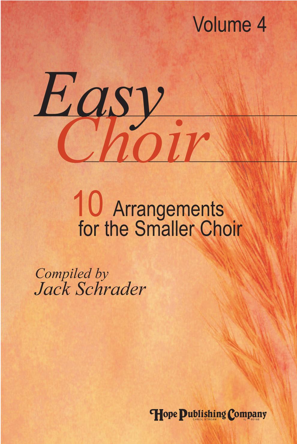 Easy Choir Vol. 4 - Score Cover Image