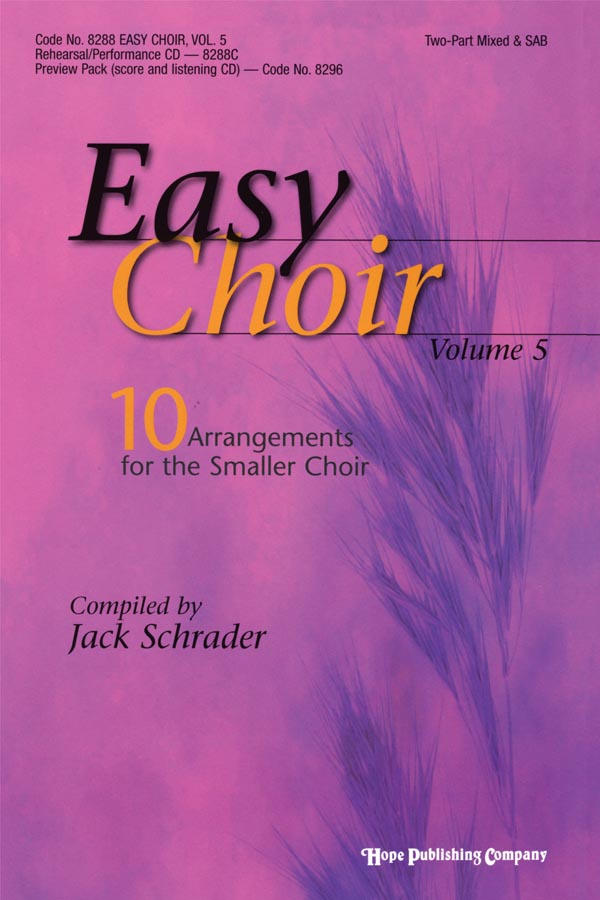 Easy Choir Vol. 5 - Score Cover Image