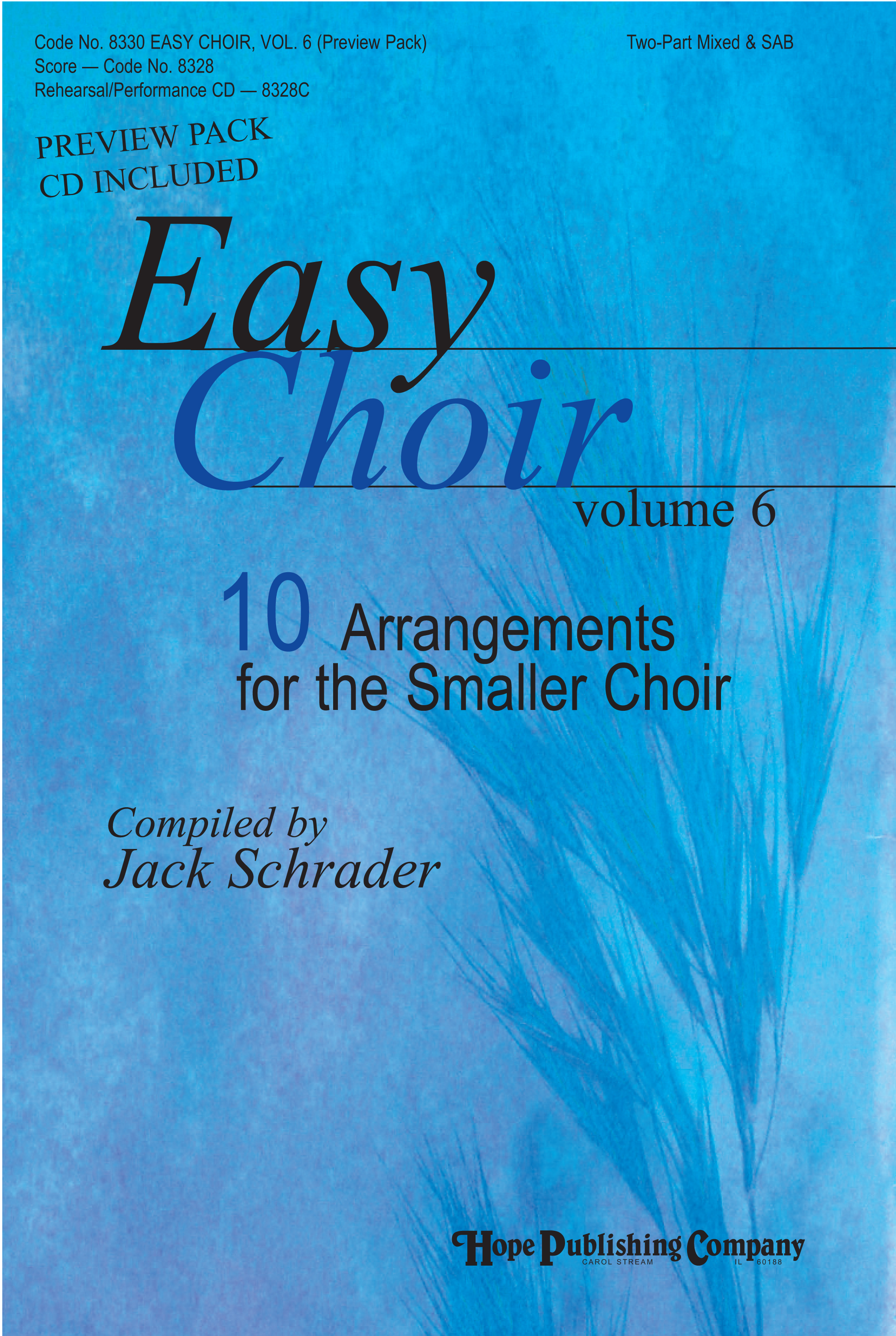 Easy Choir Vol. 6 - Score Cover Image