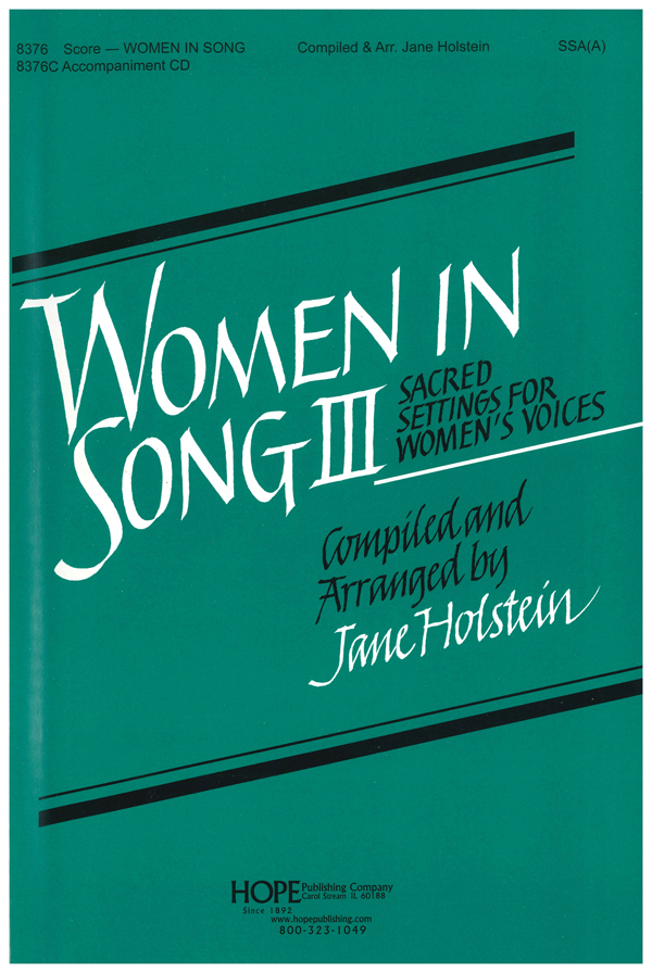 Women in Song 3 - Score Cover Image