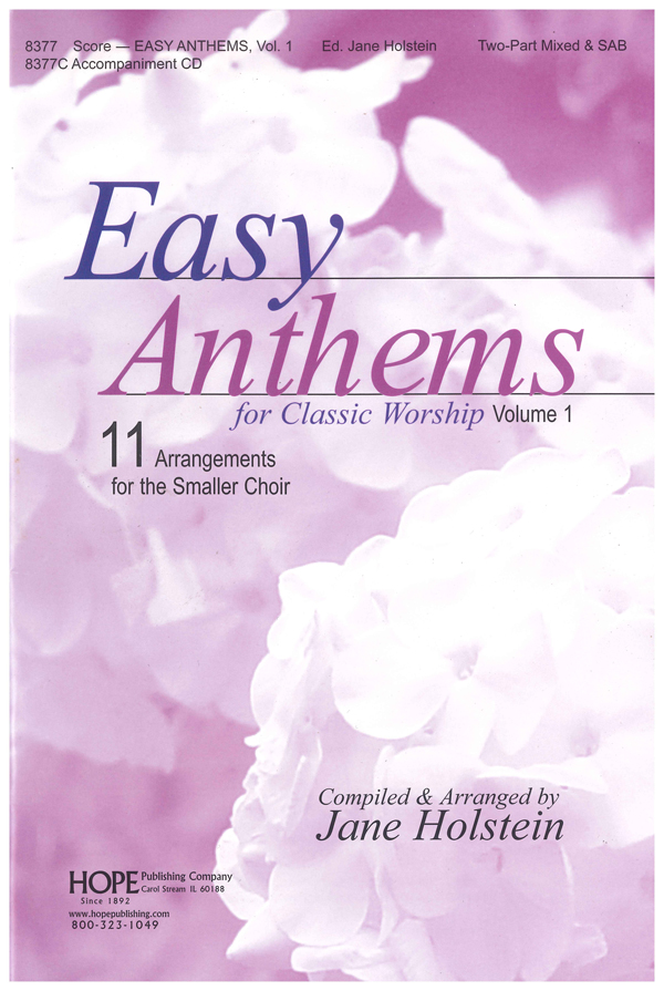 Easy Anthems Vol. 1 - Score Cover Image
