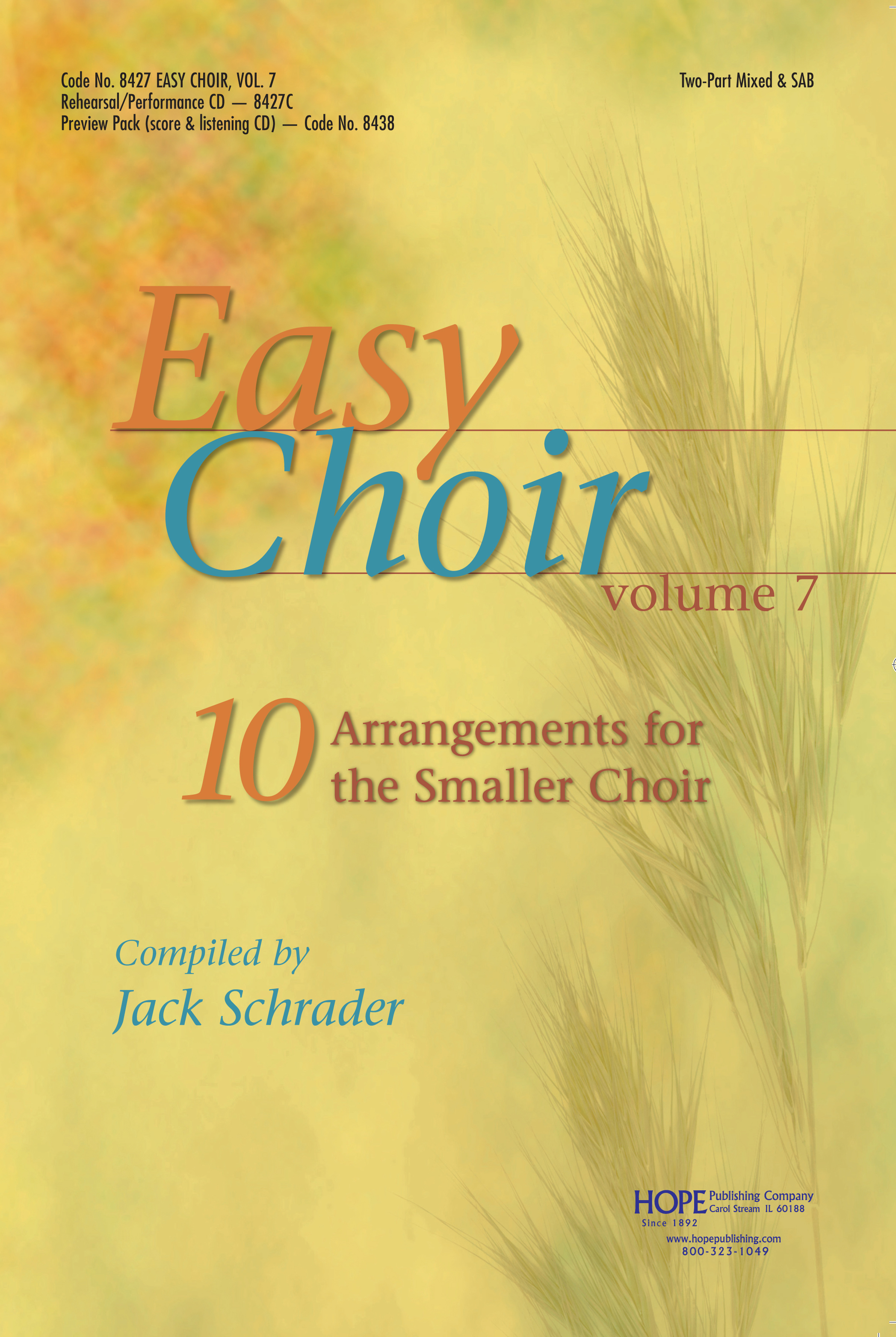 Easy Choir Vol. 7 - Score Cover Image