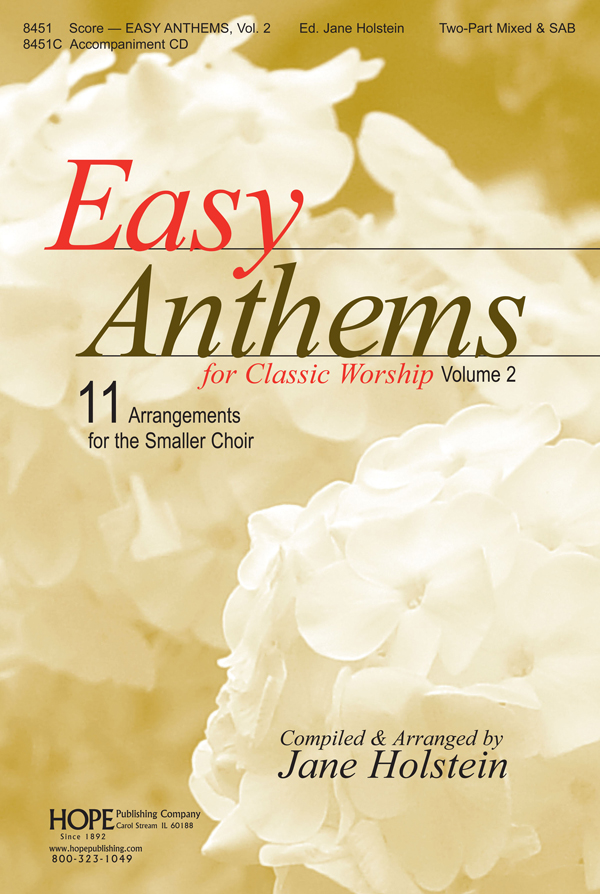 Easy Anthems Vol. 2 - Score Cover Image