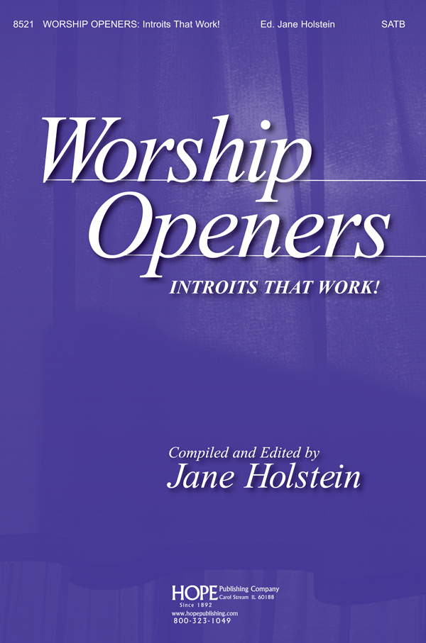 Worship Openers: Introits that Work Vol. 1 - Score Cover Image