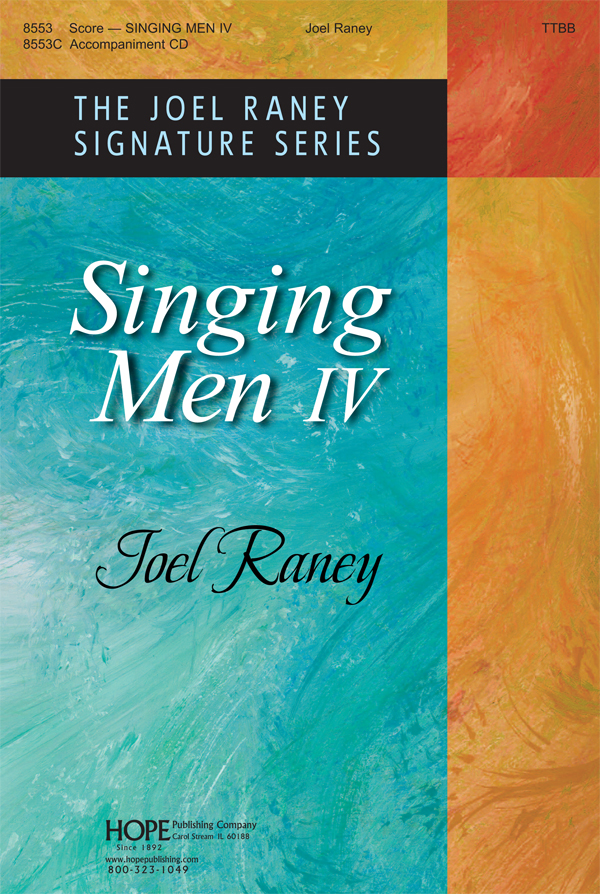 Singing Men Vol. 4 - Score Cover Image