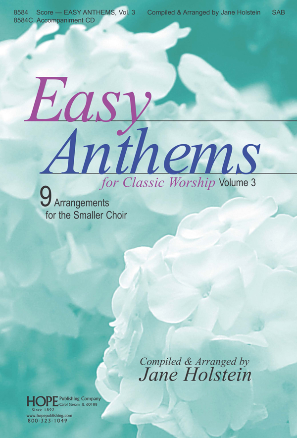 Easy Anthems Vol. 3 - Score Cover Image