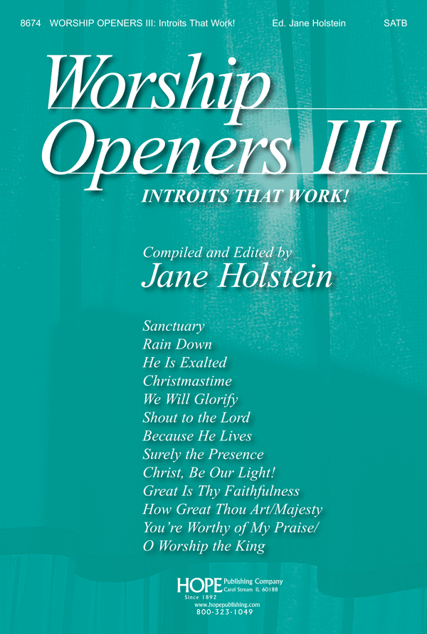 Worship Openers: Introits that Work Vol. 3 - Score Cover Image