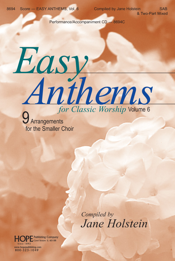 Easy Anthems Vol. 6 - Score Cover Image