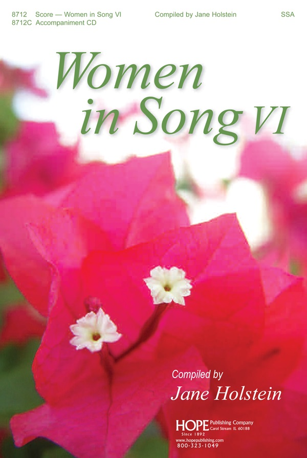 Women in Song 6 - Score Cover Image