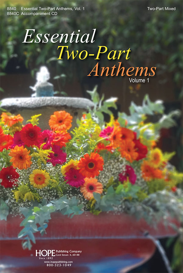 Essential Two-Part Anthems Vol. 1 - Score Cover Image