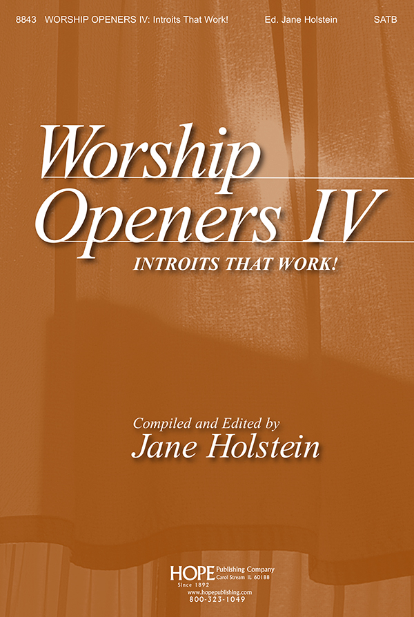 Worship Openers: Introits that Work Vol. 4 - Score Cover Image