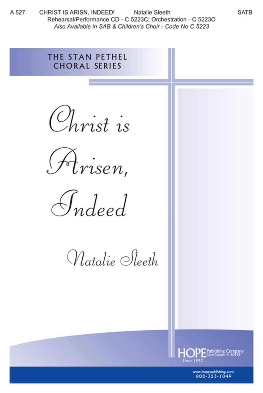 Christ Is Arisen Indeed - SATB Cover Image
