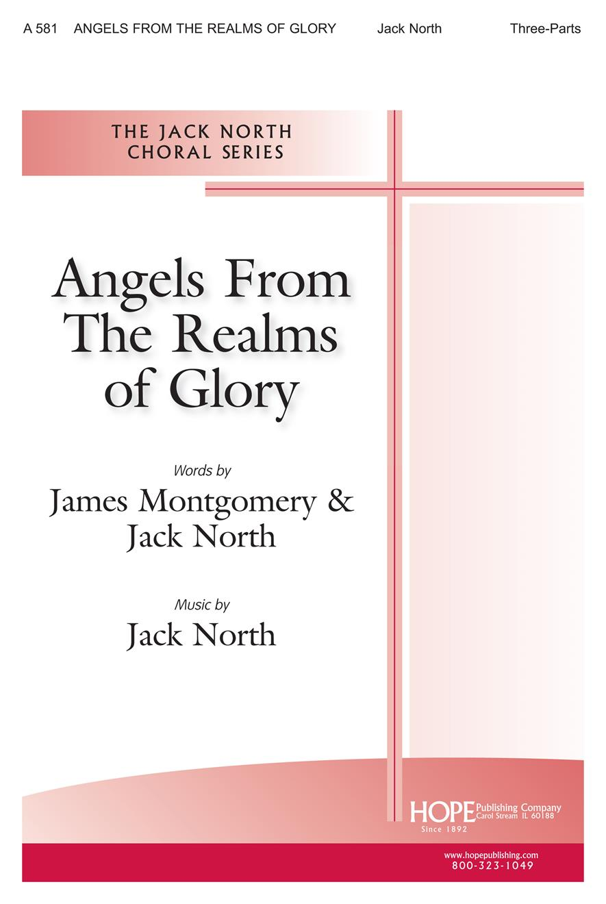 Angels from the Realms of Glory - Three-Part Cover Image