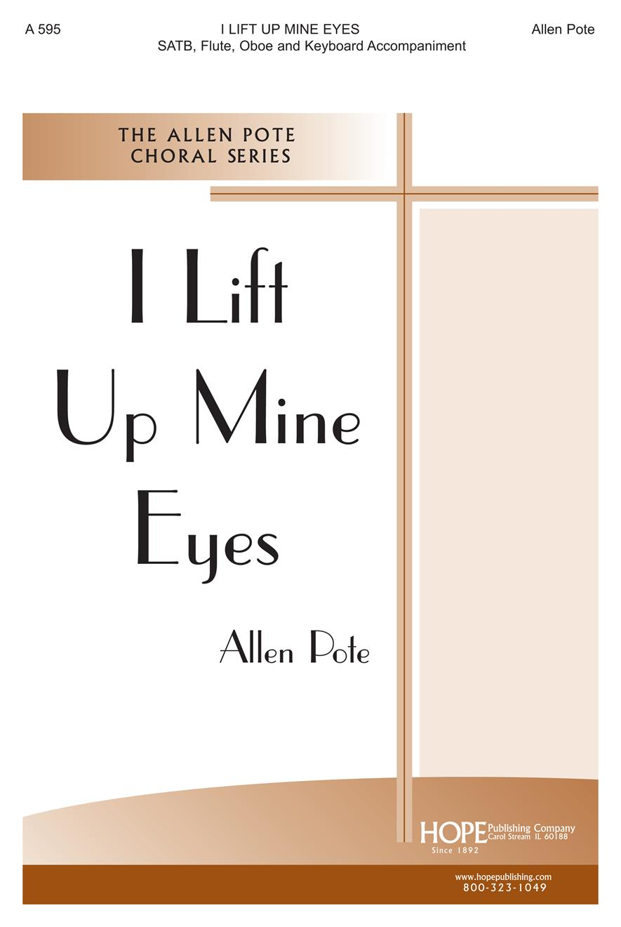 I Lift Up Mine Eyes - SATB Flute and Oboe Cover Image