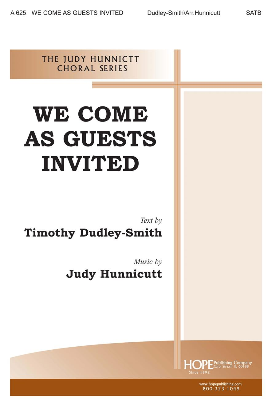 We Come as Guests Invited - SATB Cover Image