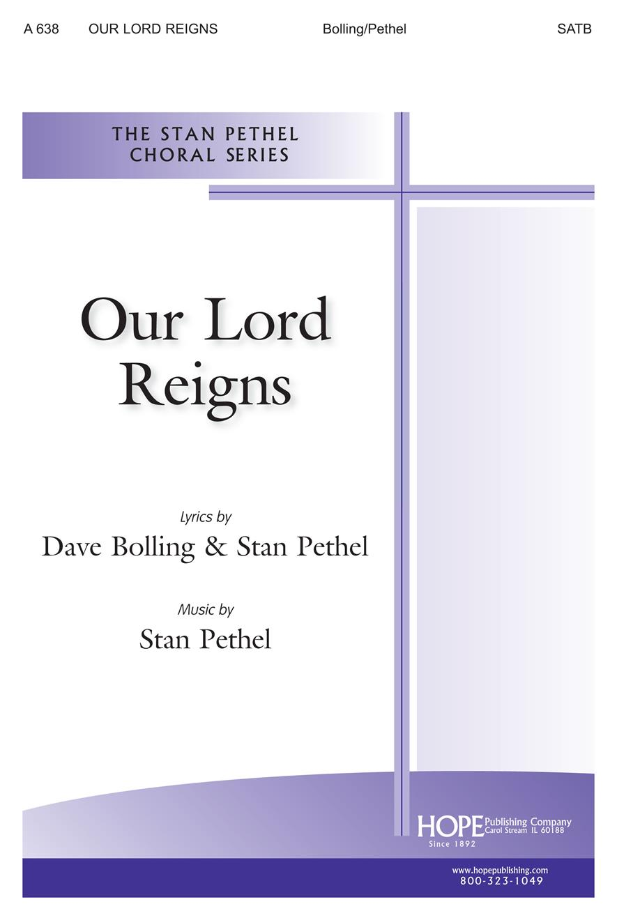 Our Lord Reigns - SATB Cover Image