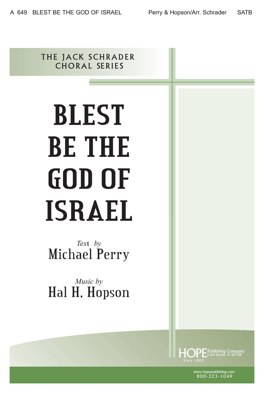 Blest Be the God of Israel - SATB Cover Image