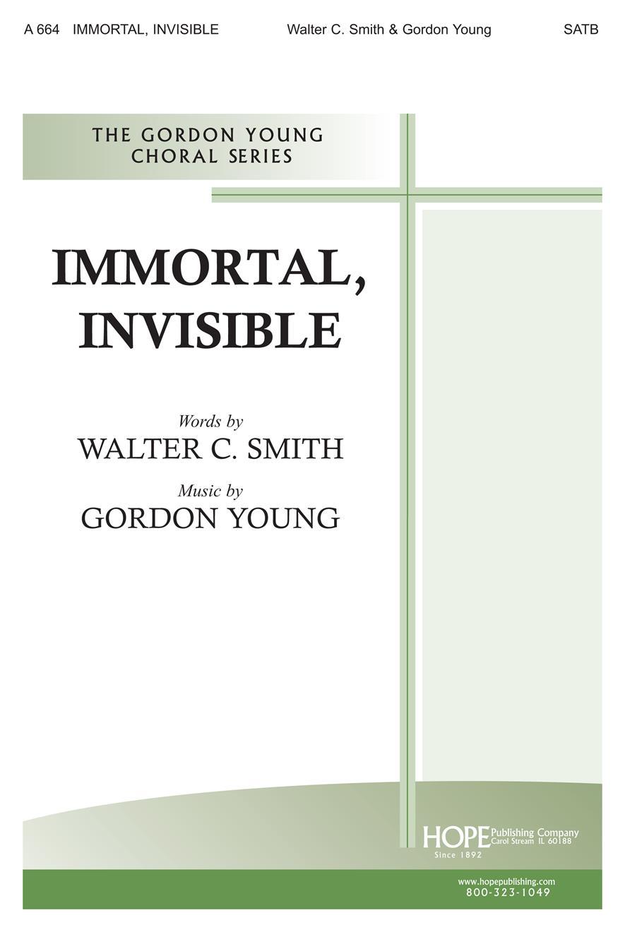 Immortal Invisible - SATB Cover Image