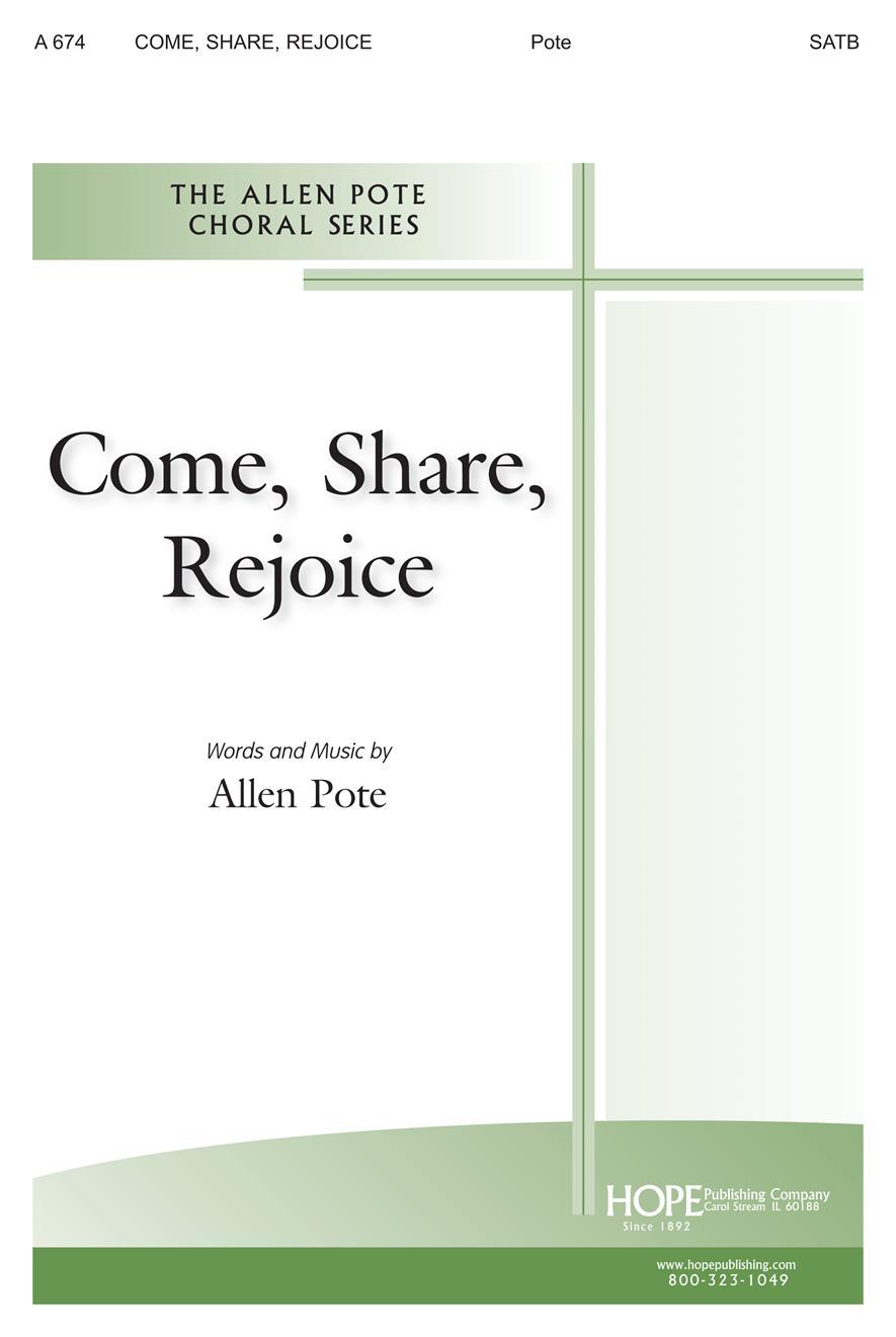 Come Share Rejoice - SATB Cover Image
