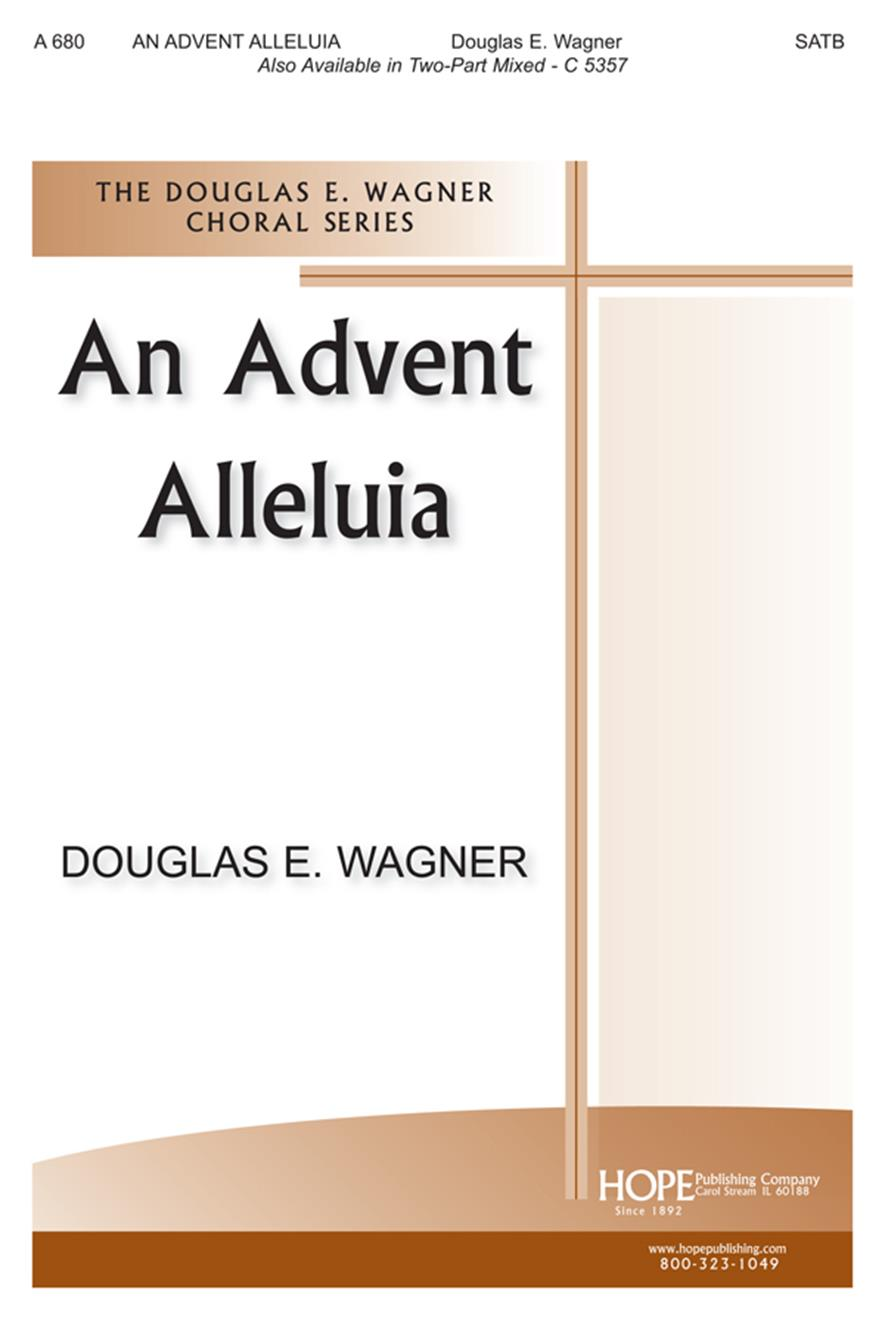 Advent Alleluia An - SATB Cover Image