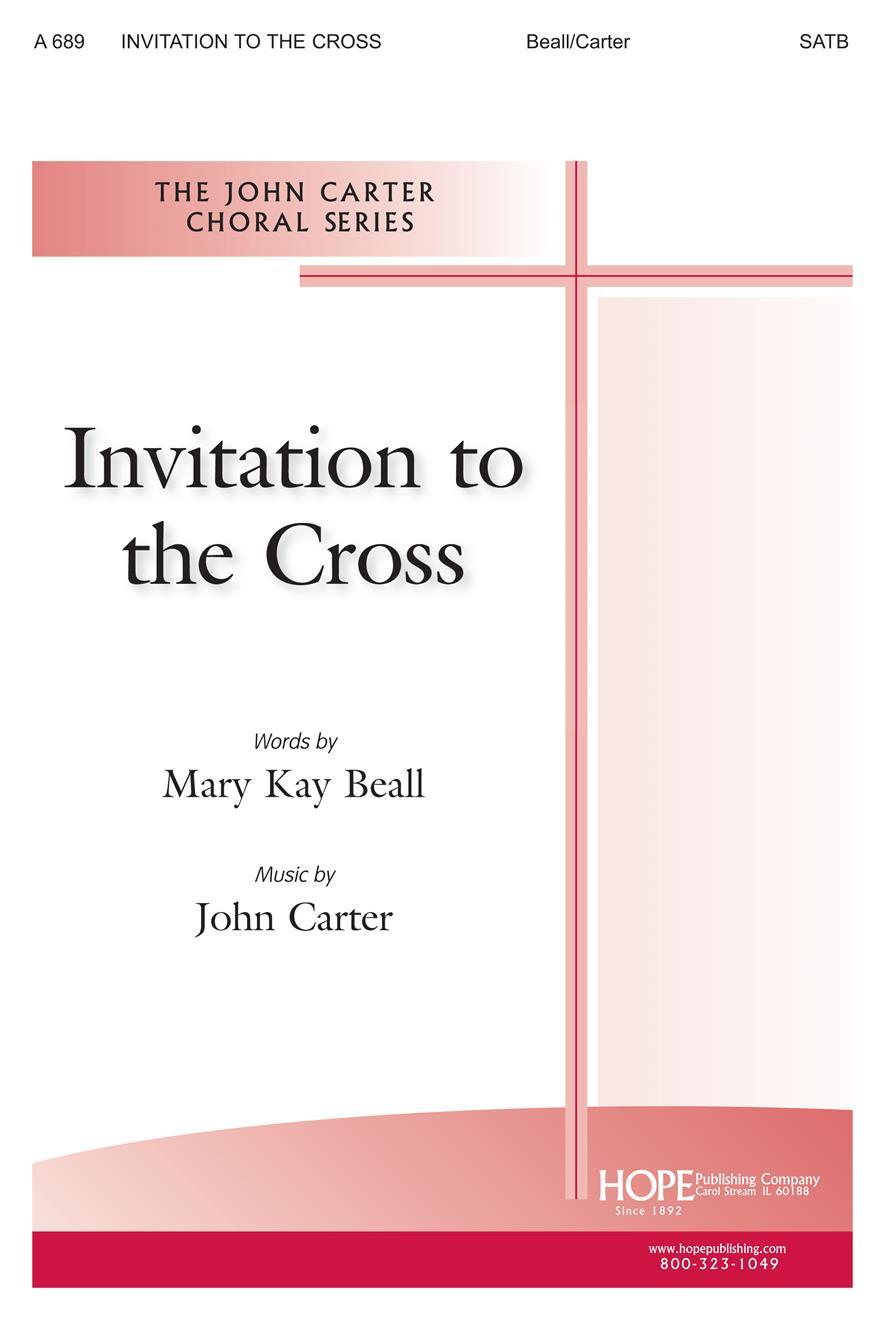 Invitation to the Cross - SATB Cover Image