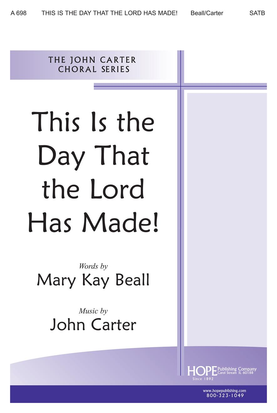 This Is the Day that the Lord Has Made - SATB Cover Image