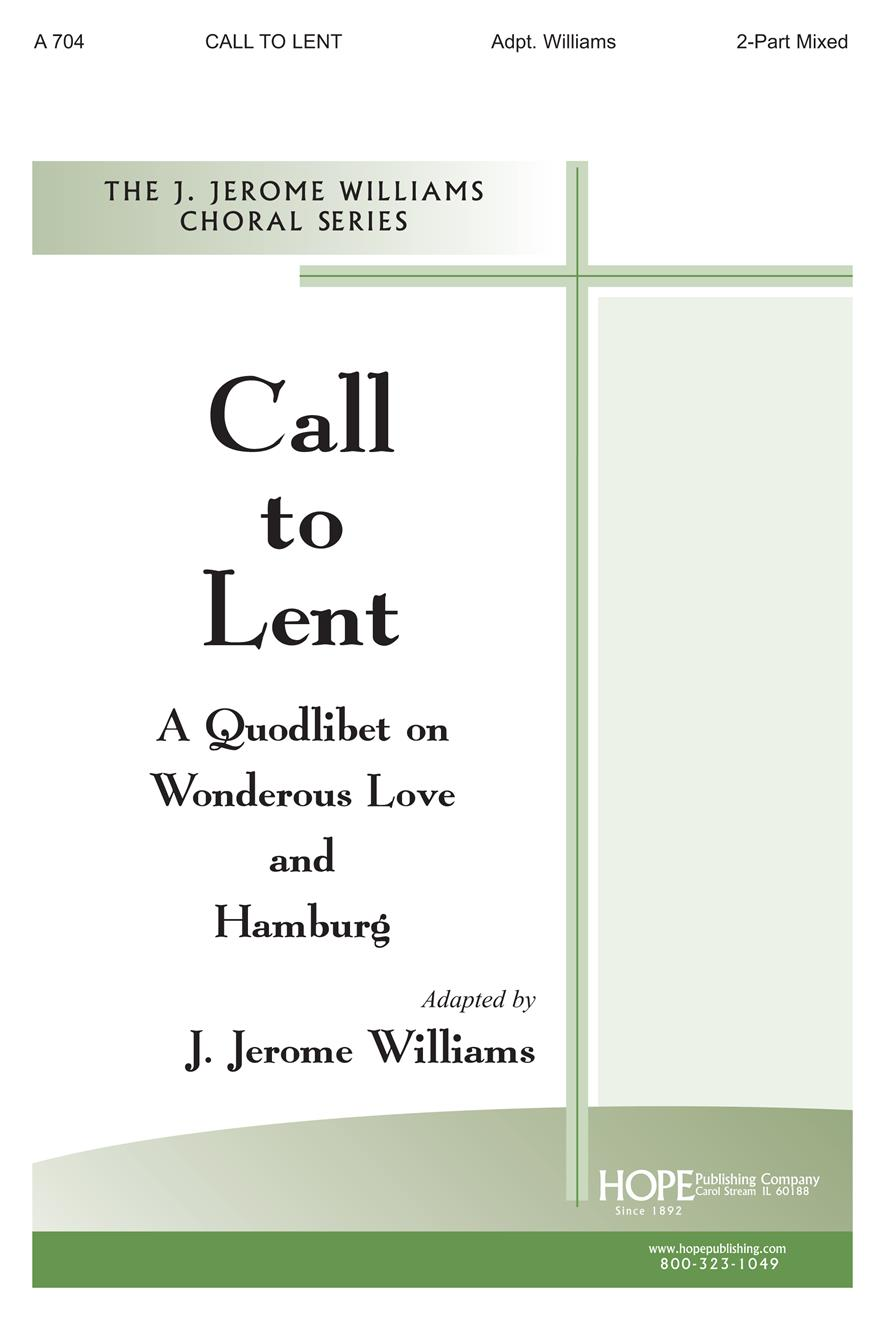 Call to Lent - Two-Part Mixed Cover Image