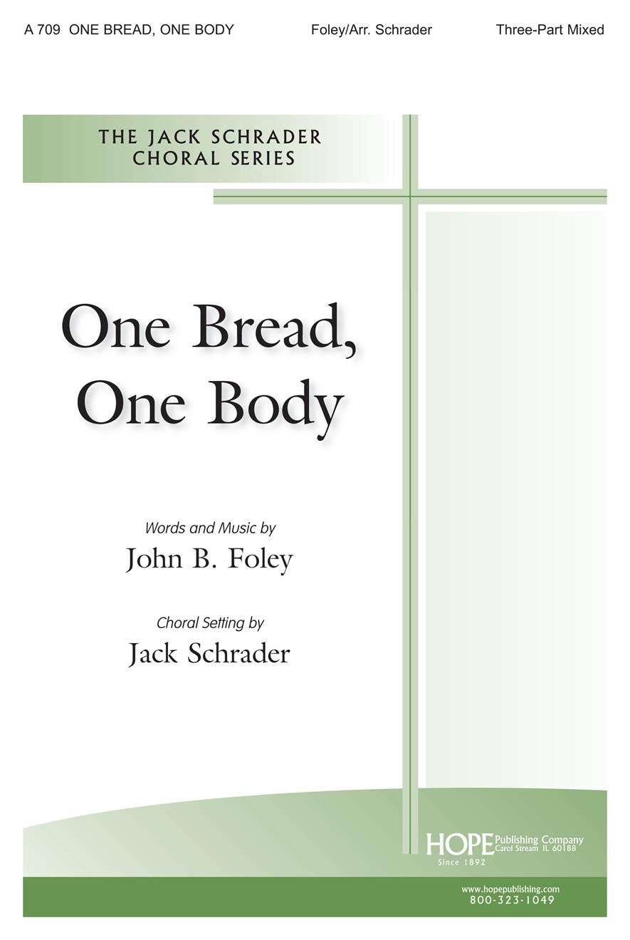 One Bread One Body - Three-Part Mixed Cover Image