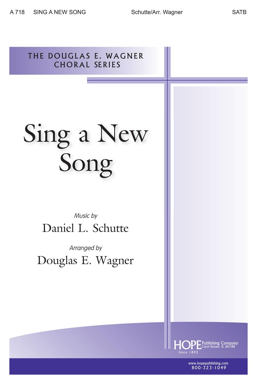 Sing a New Song - SATB Cover Image