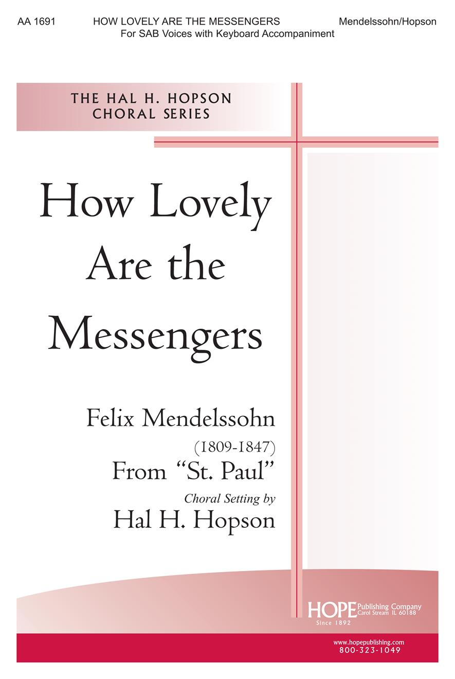 How Lovely Are the Messengers - SAB Cover Image