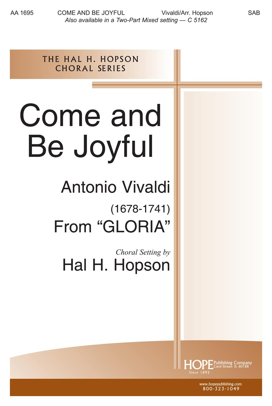 Come and Be Joyful - SAB Cover Image