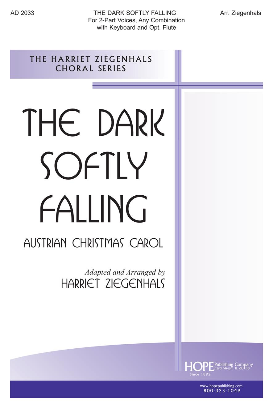 Dark Softly Falling The - Two-Part w-opt. Flute Cover Image