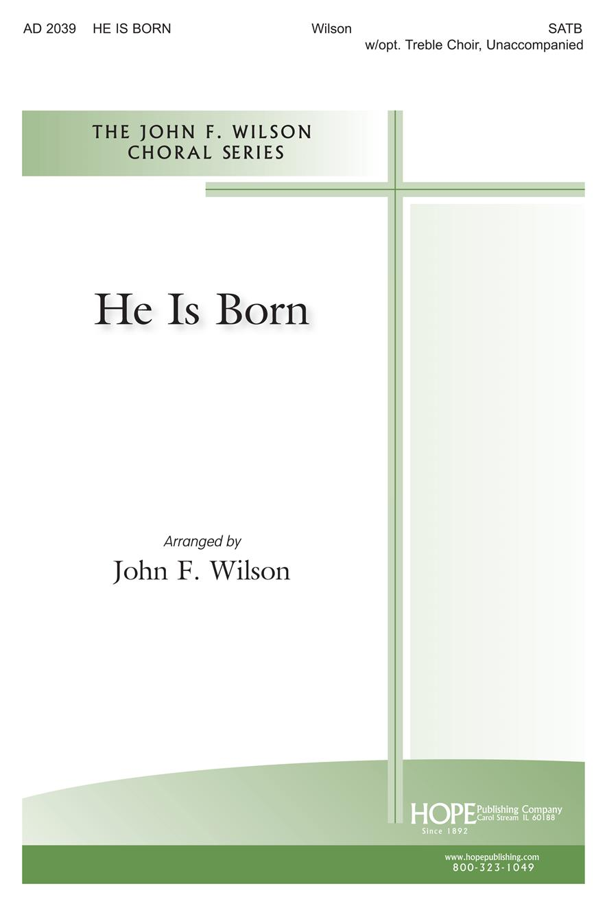 He Is Born - S(S)ATB Cover Image