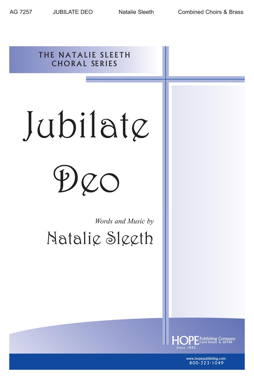Jubilate Deo - Combined Choirs and Brass Cover Image
