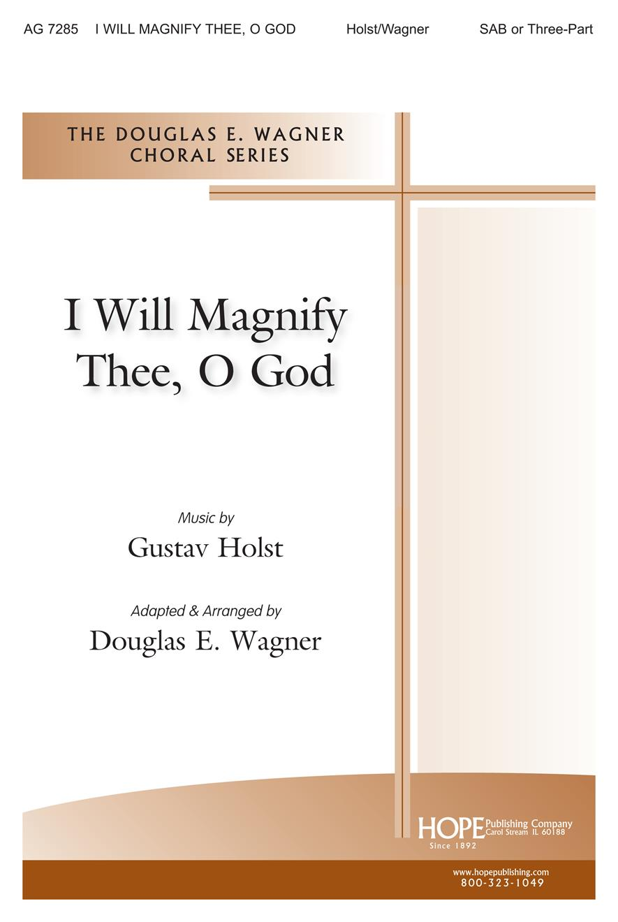 I Will Magnify Thee O God - Three-Part Cover Image