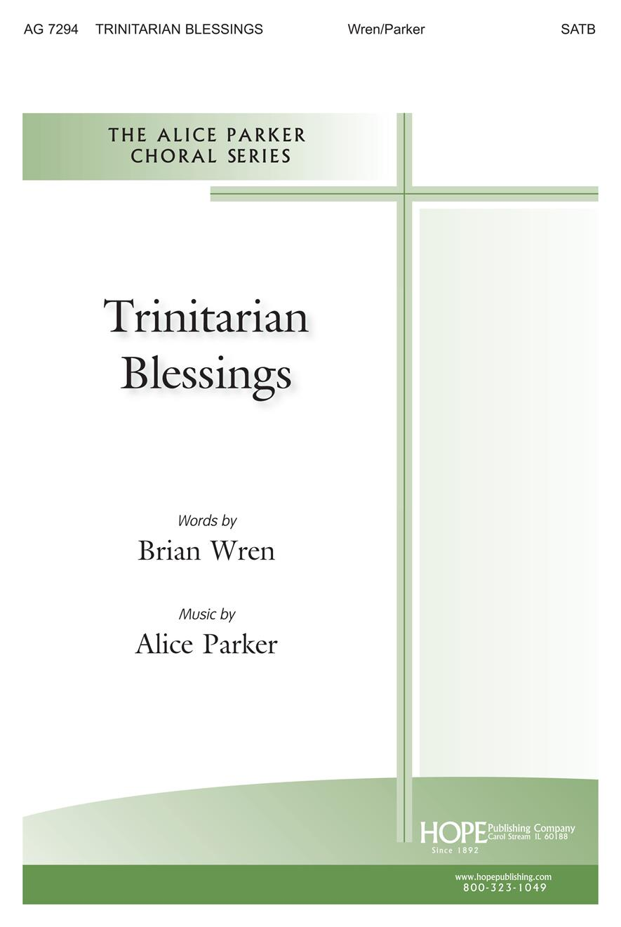 Trinitarian Blessings - SATB Cover Image