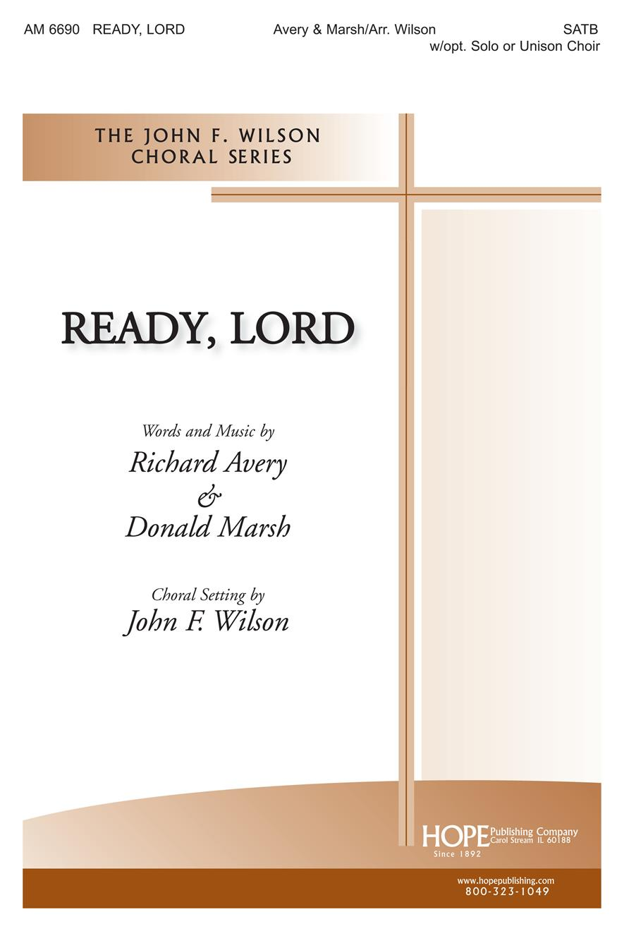 Ready Lord - SATB Cover Image